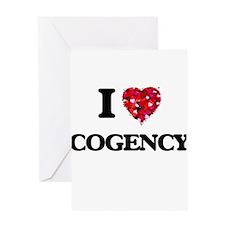 I love Cogency Greeting Cards