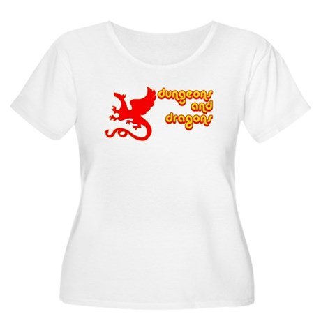 Dungeons and Dragons Women's Plus Size Scoop Neck