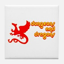 Dungeons and Dragons Tile Coaster