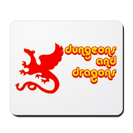 Dungeons and Dragons Mousepad