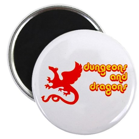 Dungeons and Dragons Magnet