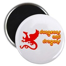 """Dungeons and Dragons 2.25"""" Magnet (10 pack)"""