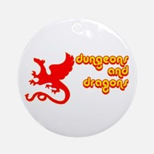 Dungeons and Dragons Ornament (Round)