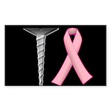 Screw Breast Cancer! Decal
