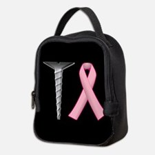 Screw Breast Cancer! Neoprene Lunch Bag