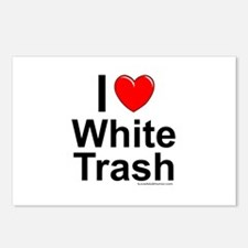 White Trash Postcards (Package of 8)