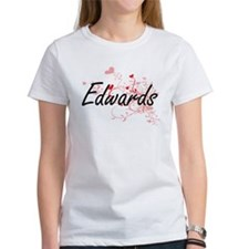 Edwards Artistic Design with Hearts T-Shirt