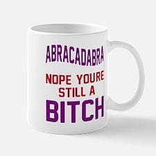 Abracadabra Nope Bitch Mug