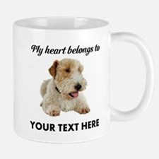 Custom Wire Fox Terrier Mug
