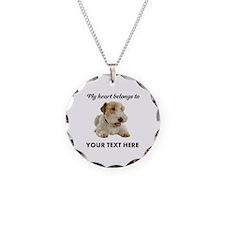 Custom Wire Fox Terrier Necklace
