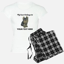 Custom Yorkshire Terrier pajamas
