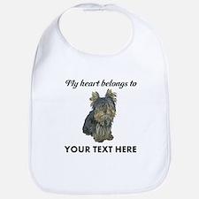 Custom Yorkshire Terrier Bib