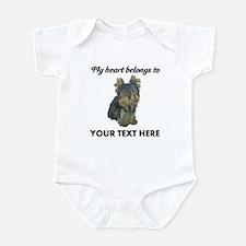 Custom Yorkshire Terrier Infant Bodysuit