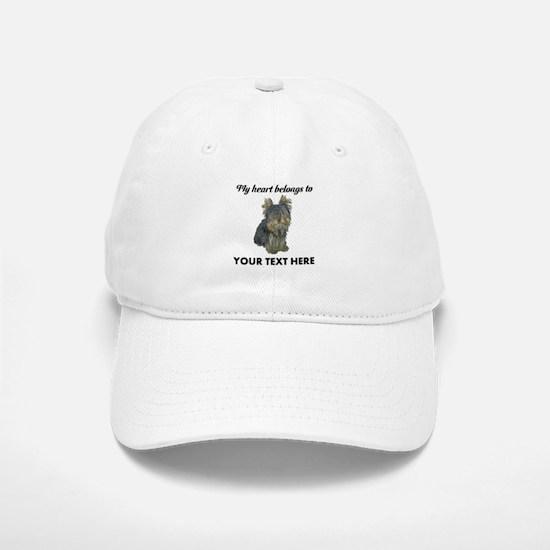 Custom Yorkshire Terrier Baseball Baseball Cap