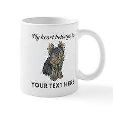 Custom Yorkshire Terrier Small Mug