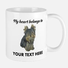 Custom Yorkshire Terrier Small Mugs
