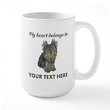 Custom Yorkshire Terrier Ceramic Mugs