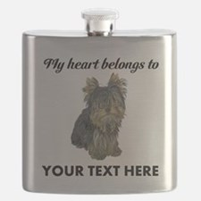Custom Yorkshire Terrier Flask
