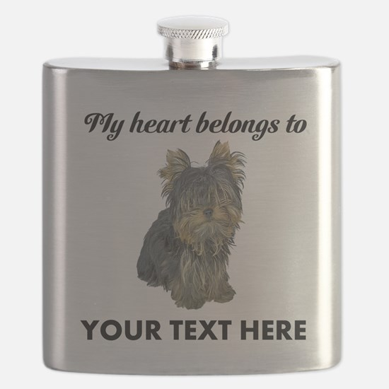 Custom Yorkshire Terrier Flask