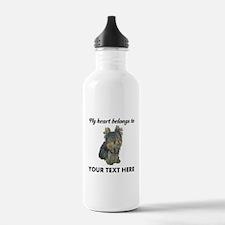 Custom Yorkshire Terri Water Bottle