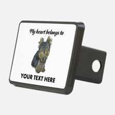 Custom Yorkshire Terrier Hitch Cover