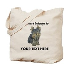 Custom Yorkshire Terrier Tote Bag