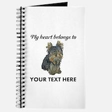 Custom Yorkshire Terrier Journal