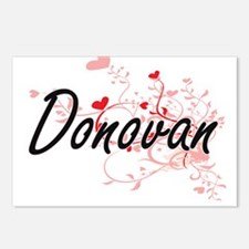 Donovan Artistic Design w Postcards (Package of 8)