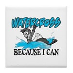 Watercross Tile Coaster