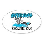 Watercross Oval Sticker