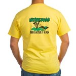 Watercross Yellow T-Shirt