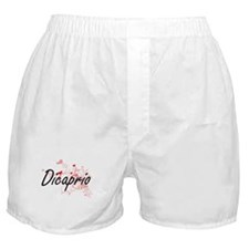 Dicaprio Artistic Design with Hearts Boxer Shorts