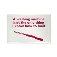 Washing machine load Rectangle Magnet