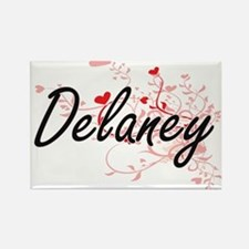 Delaney Artistic Design with Hearts Magnets