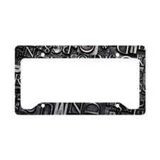 DANCE License Plate Holder