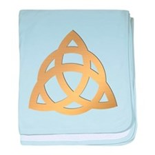 Triquetra, Charmed, Book of Shadows baby blanket