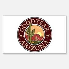 Goodyear Rectangle Decal