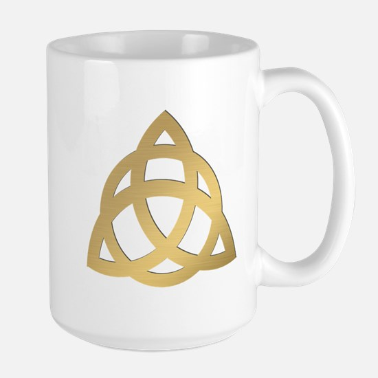 Triquetra, Charmed, Book of Shadows Large Mug