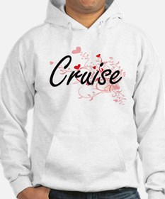 Cruise Artistic Design with Hear Hoodie