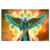 Archangels Wrapped Canvas Art