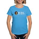 Who Would Jesus Bomb? Women's Dark T-Shirt