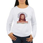Who Would Jesus Bomb? Women's Long Sleeve T-Shirt