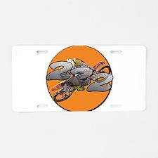 tc1 Aluminum License Plate