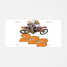 tc2 Aluminum License Plate