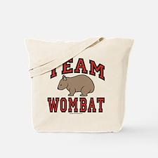 Team Wombat III Tote Bag