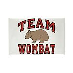 Team Wombat III Rectangle Magnet (10 pack)