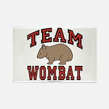Team Wombat III Rectangle Magnet