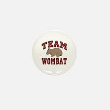 Team Wombat III Mini Button (10 pack)