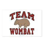 Team Wombat III Postcards (Package of 8)