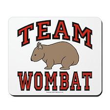 Team Wombat III Mousepad